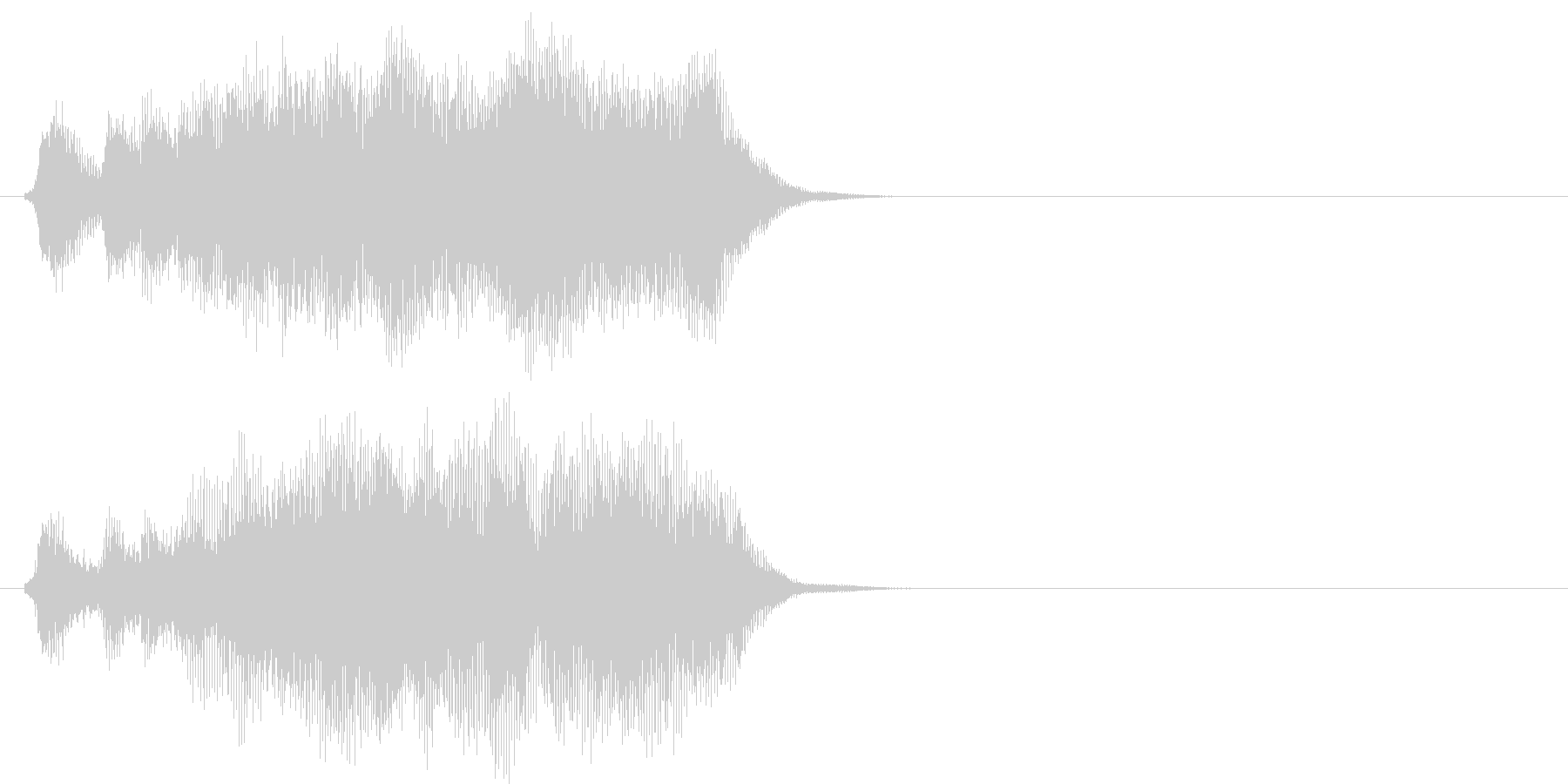 汎用08 パンパカパーン(Short)の未再生の波形