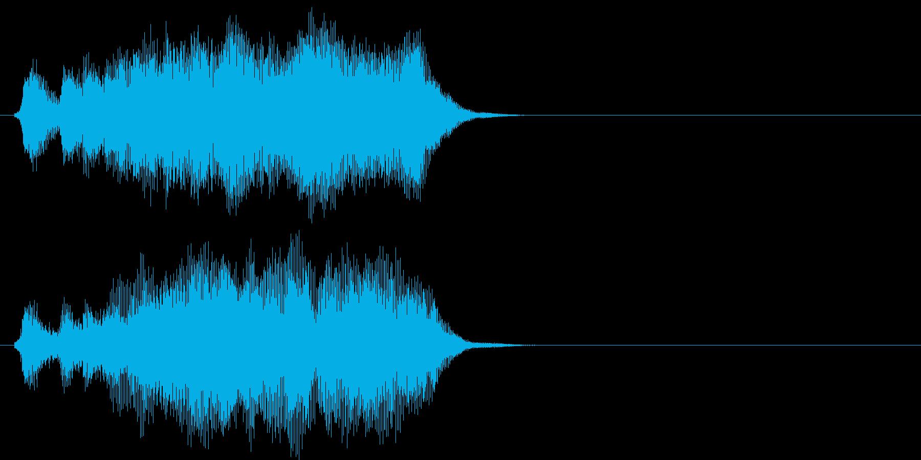 汎用08 パンパカパーン(Short)の再生済みの波形