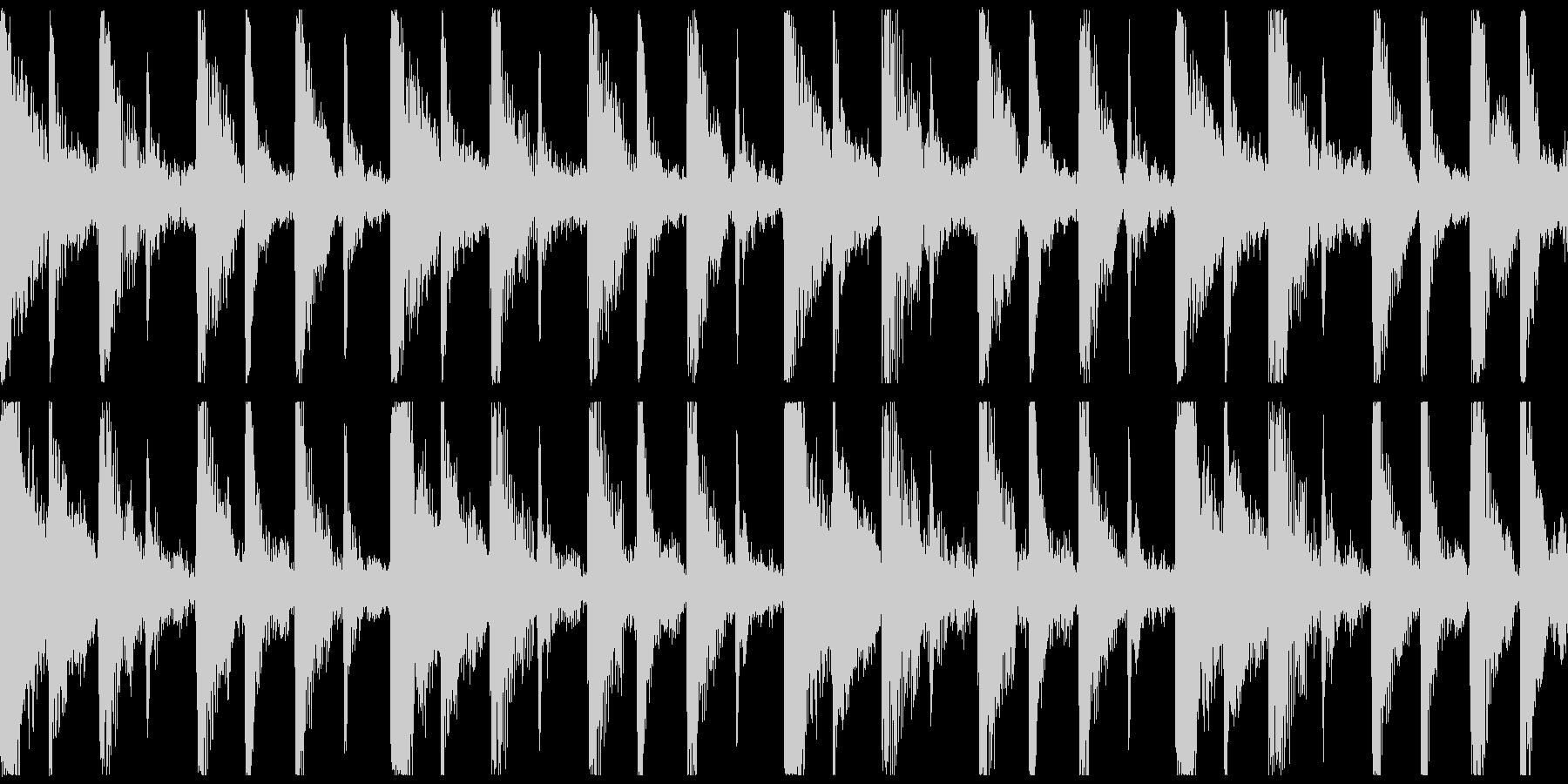 いたずら子供、ピチカート、ロゴ、ループ1の未再生の波形