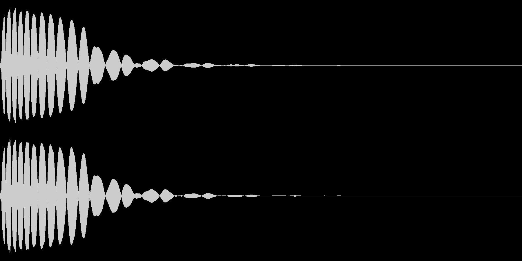 EDMやIDM系のバスドラム 06cの未再生の波形