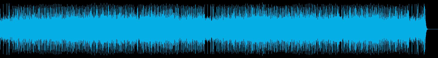 充実感溢れるポップ(フルサイズ)の再生済みの波形