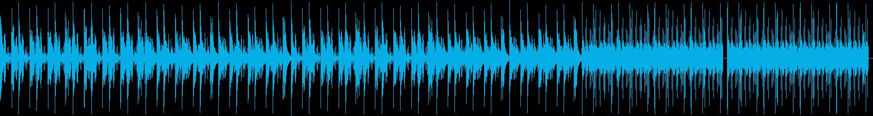 148bpm、Ab-min、不思議な感じの再生済みの波形