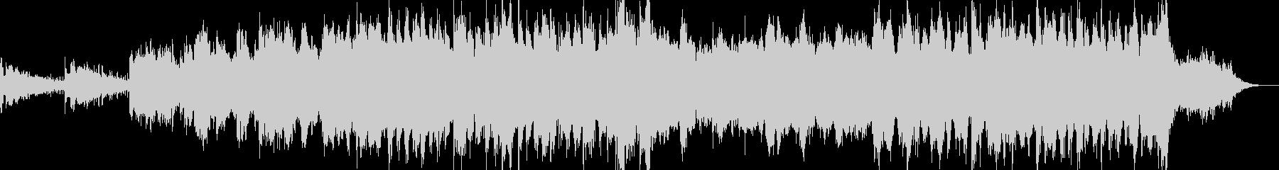 アンビエント環境音楽ヒーリング-03の未再生の波形