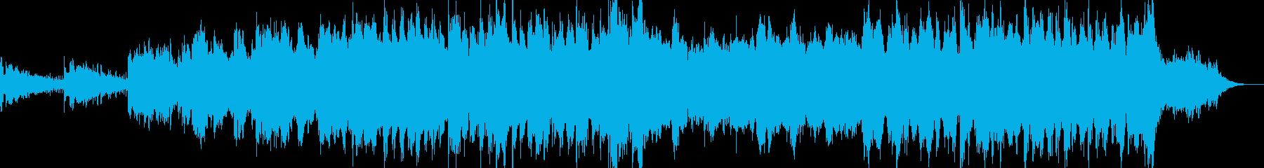 アンビエント環境音楽ヒーリング-03の再生済みの波形