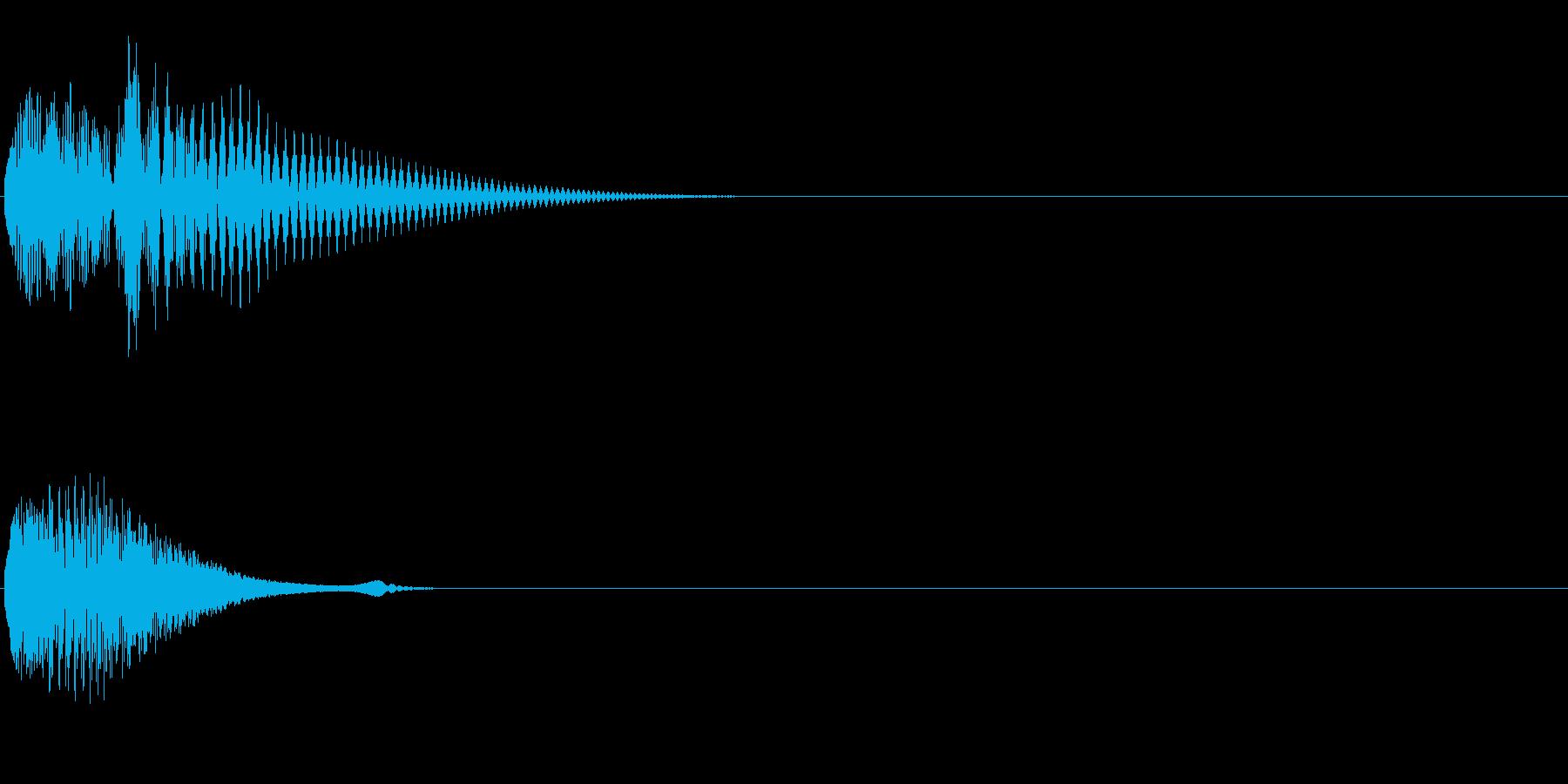 Baby 幼児玩具向け可愛い電子音2の再生済みの波形
