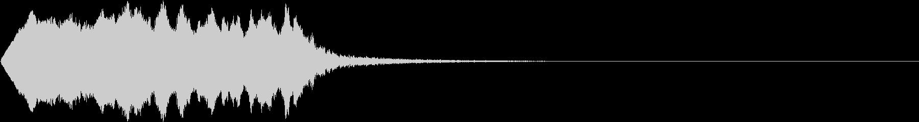 SE ポワーン クイズ出題前 上昇音の未再生の波形