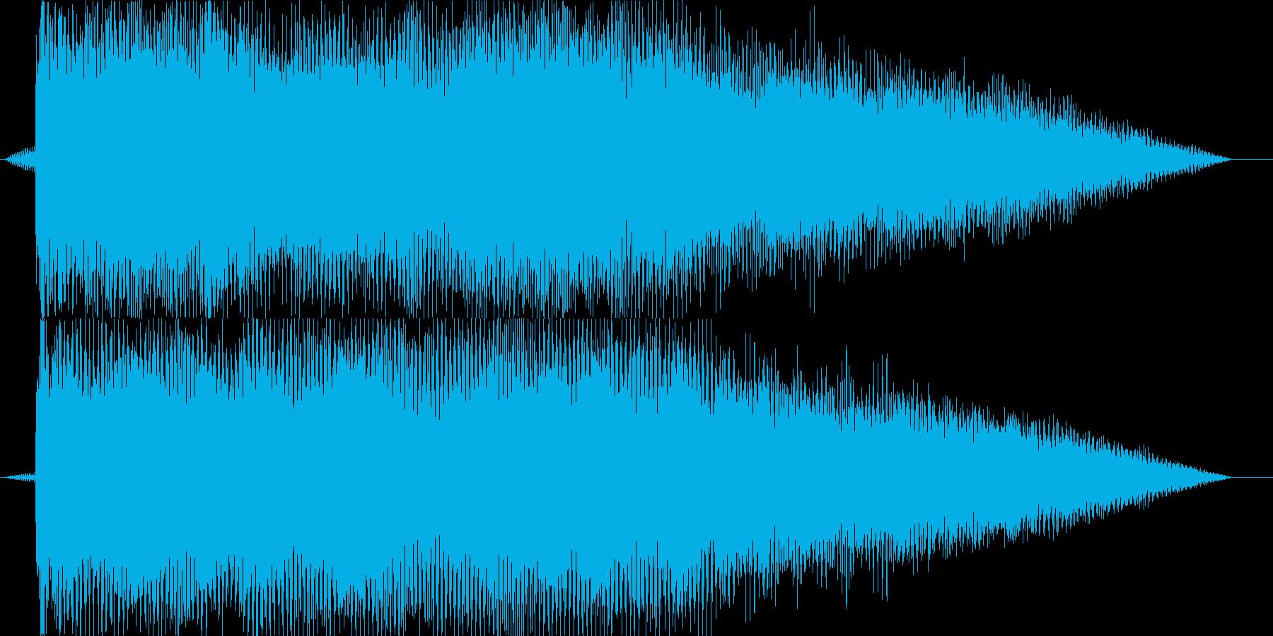 ドーン①(バンドの登場シーン・場面転換)の再生済みの波形