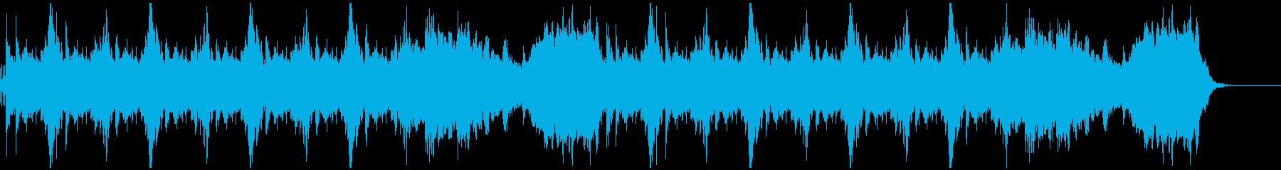 勢いのあるセレクト(選択)画面風サウンドの再生済みの波形