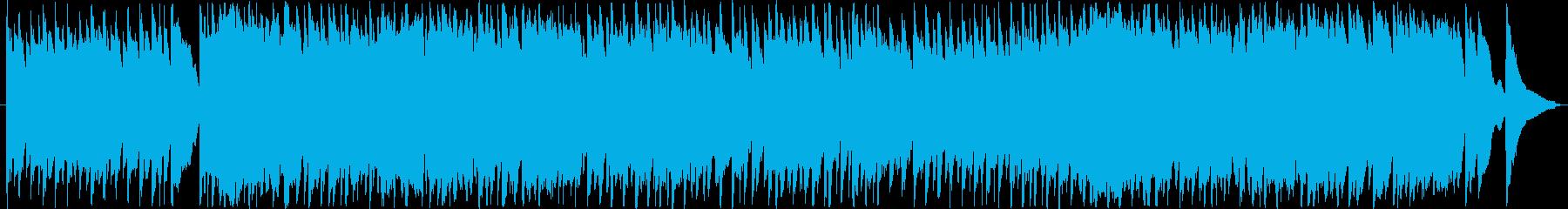 ほのぼのとした雰囲気の楽曲ですの再生済みの波形