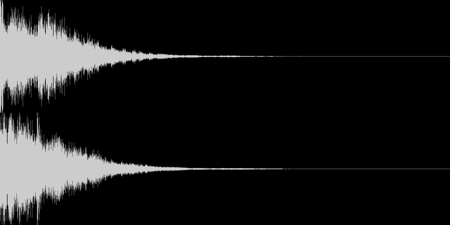 決定音59_シンセZの未再生の波形