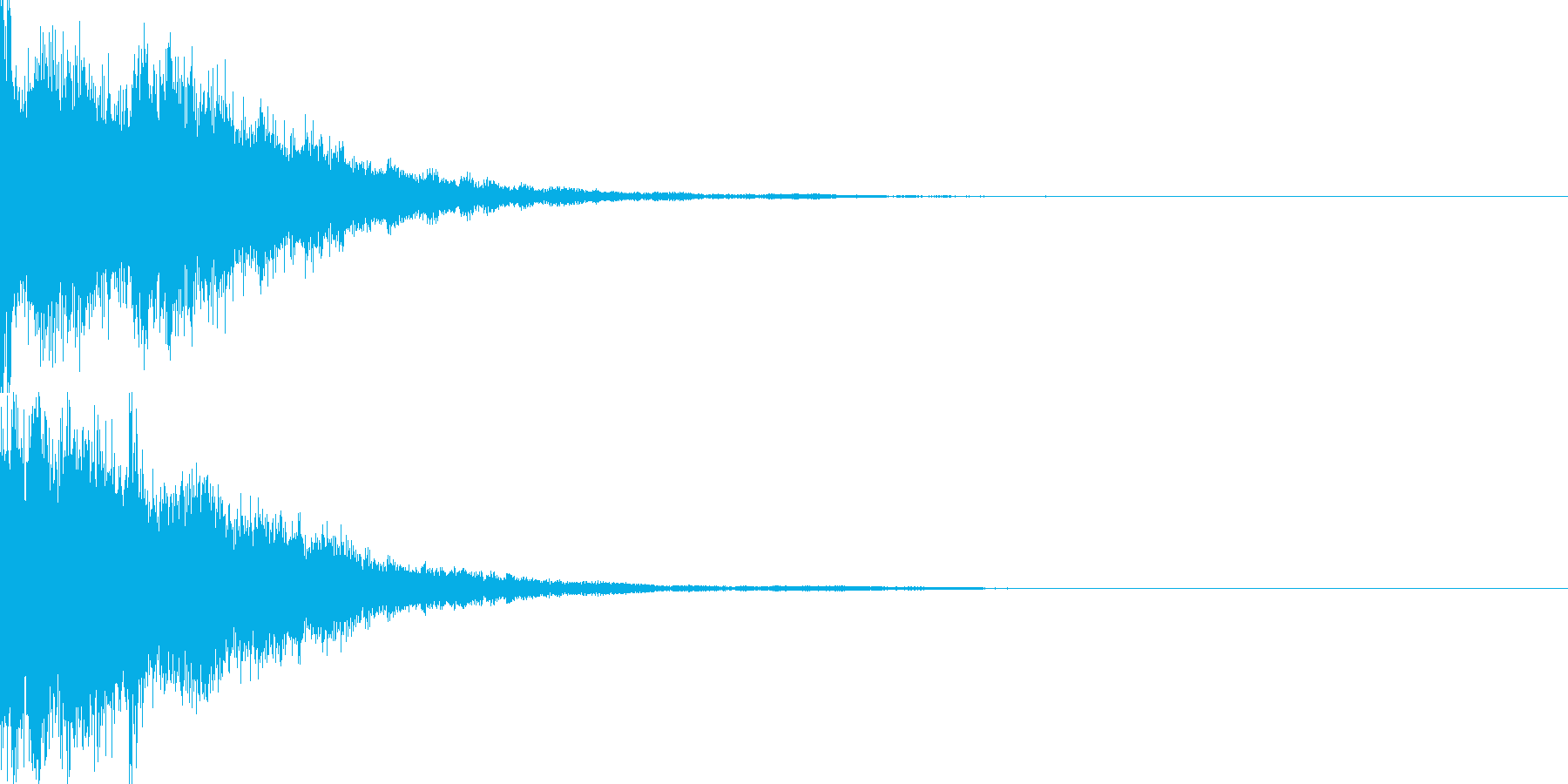 決定音59_シンセZの再生済みの波形