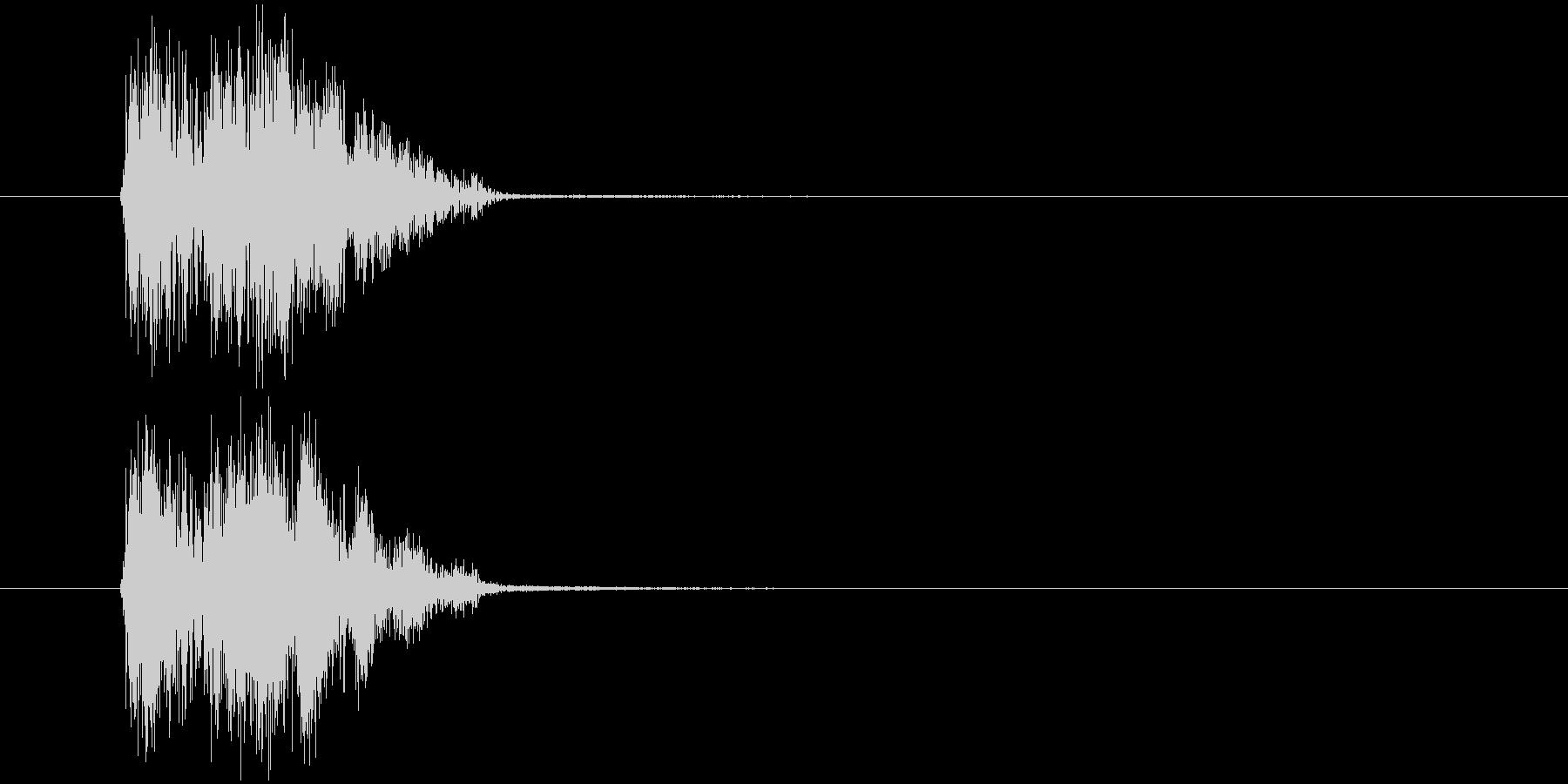 汎用SE_カーソル移動ほかの未再生の波形