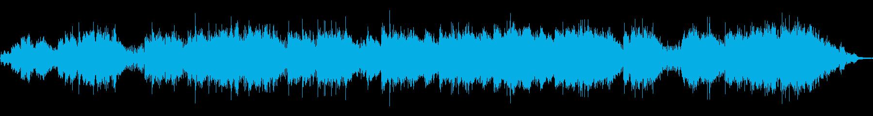 シンセギターとドラムがかっこよく近未来的の再生済みの波形