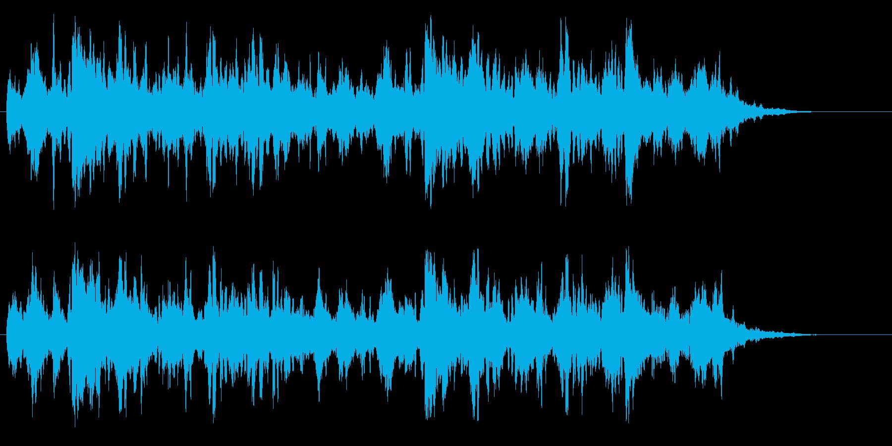 ムーディーなクリーン・ギターAORの再生済みの波形
