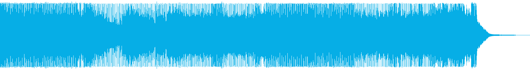 戦闘シーン向け 疾走感ある攻撃的なメタルの再生済みの波形