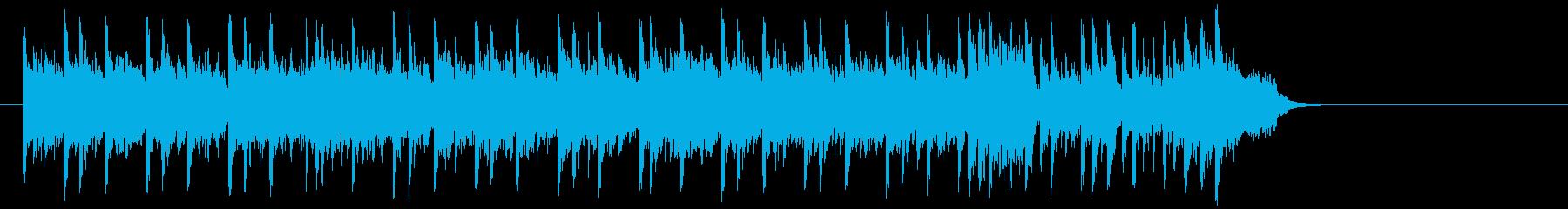 前向きで充実したポップ(サビ~エンド)の再生済みの波形
