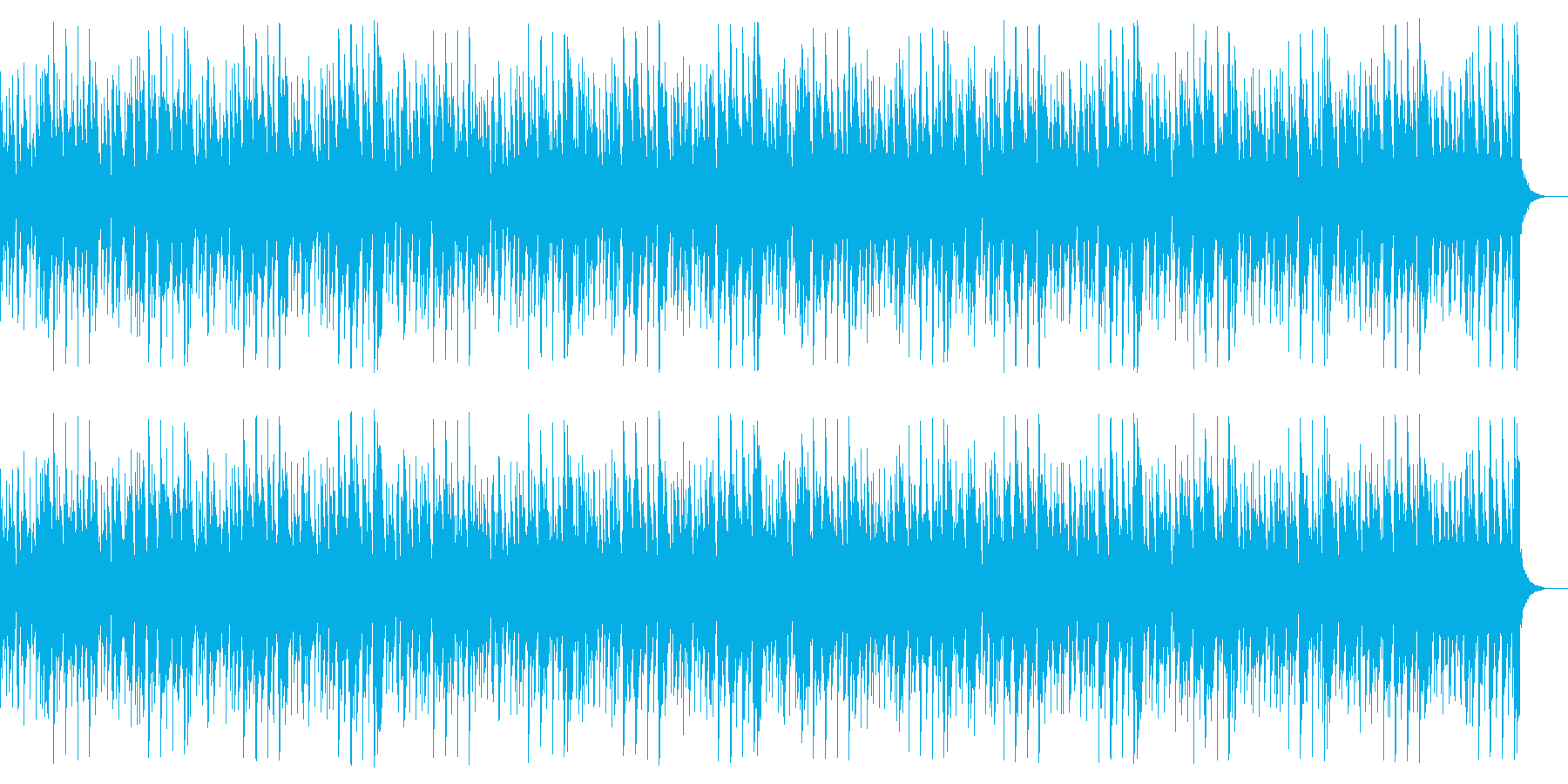電子的トラブルの再生済みの波形