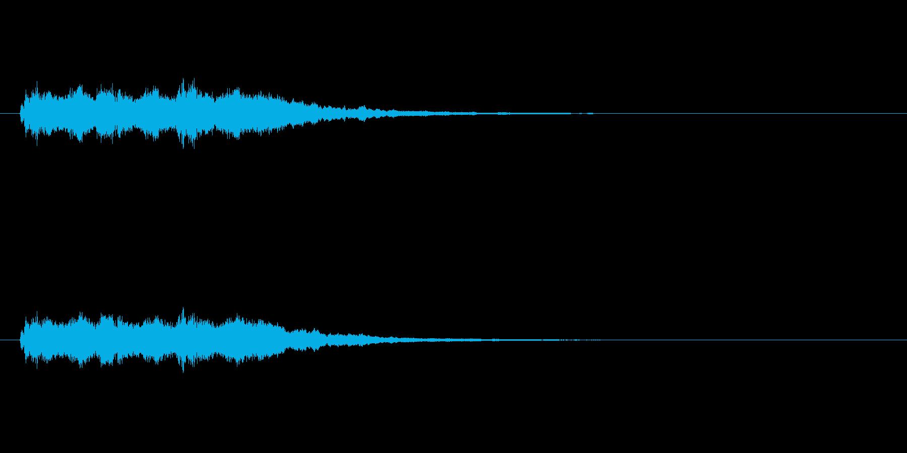 【競技用ゴング02-6】の再生済みの波形