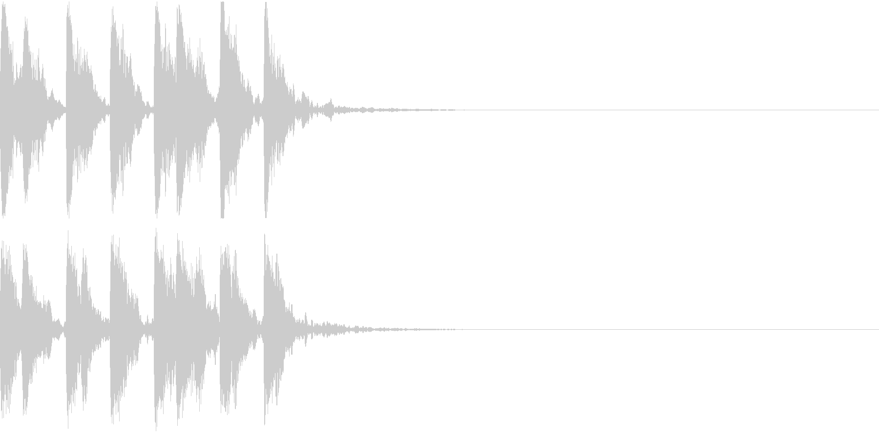 レベルアップ アイテム ゲット 発見 2の未再生の波形
