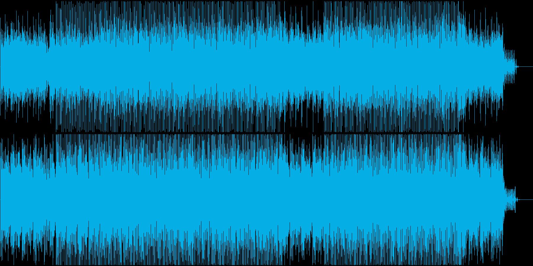 企業VPや映像に 静と動がうまく両立の再生済みの波形