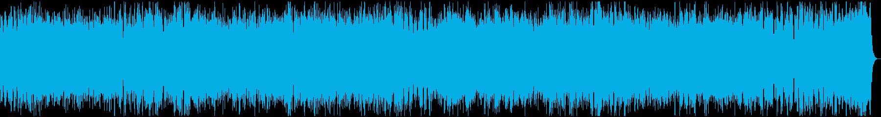 黒魔道士 スピード感のある爽快な戦闘曲の再生済みの波形