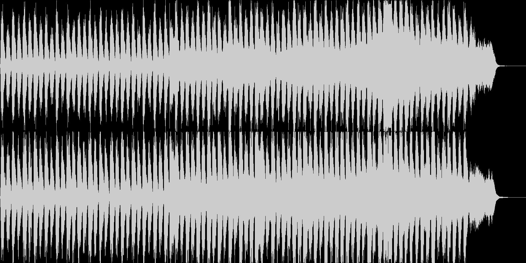 暗く壮大なオーケストラサスペンスの未再生の波形