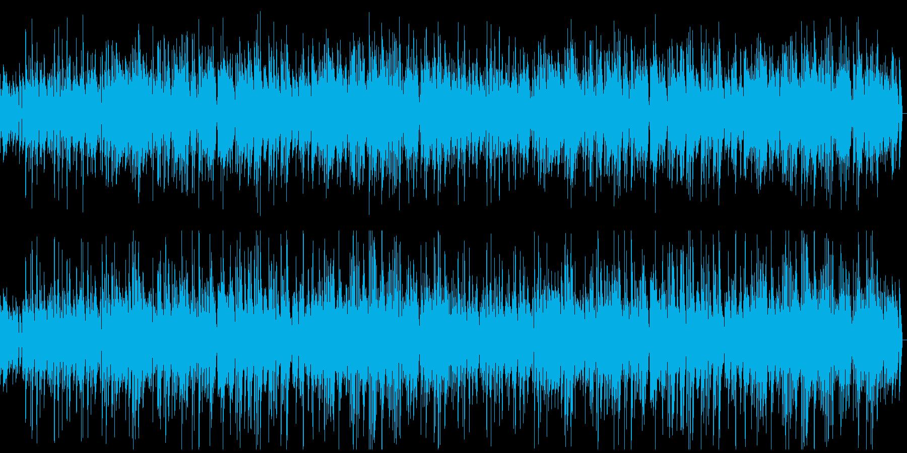 明るいアップテンポジャズの再生済みの波形