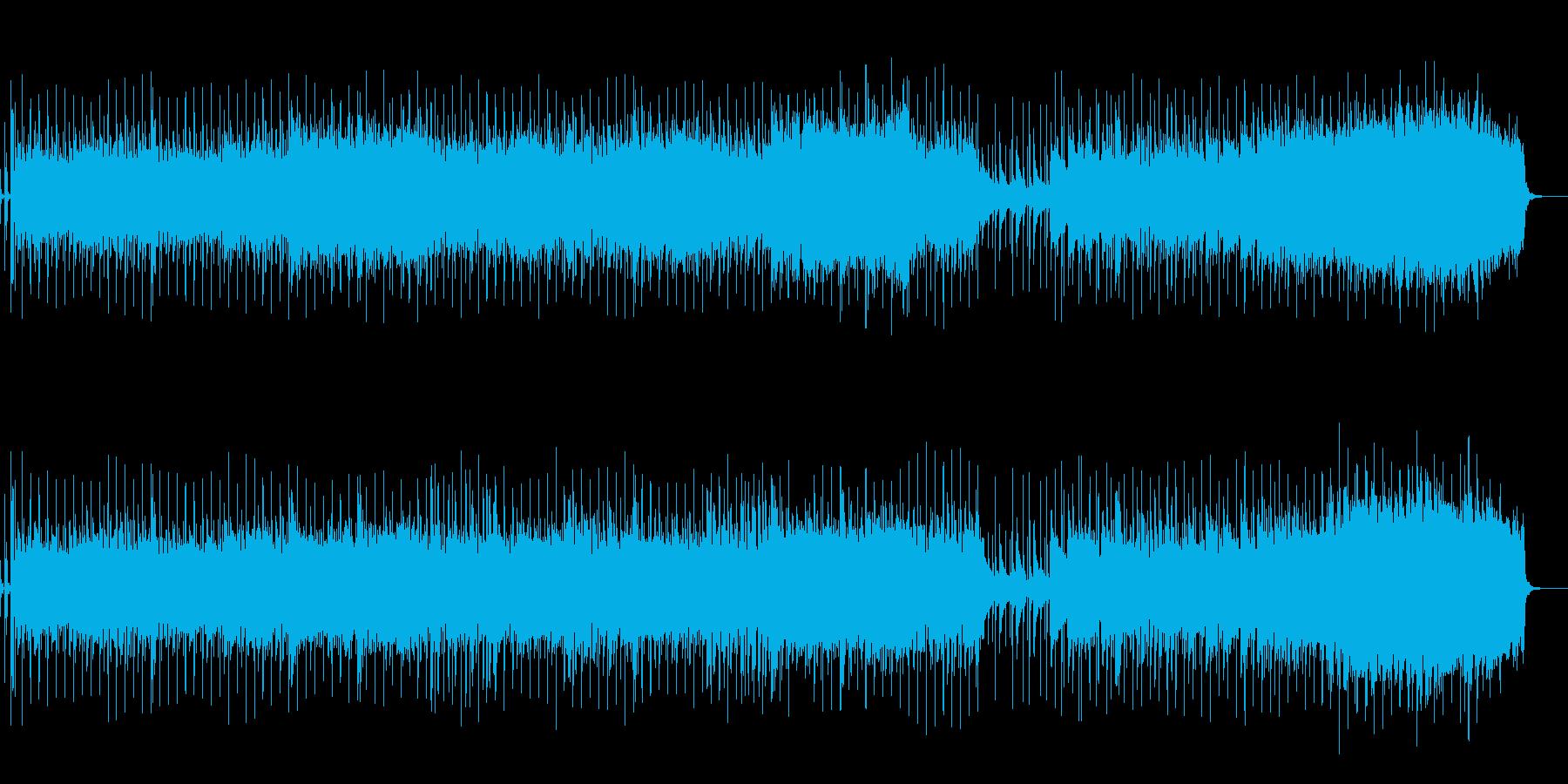 バトル曲でカッコイイオーケストラロックの再生済みの波形