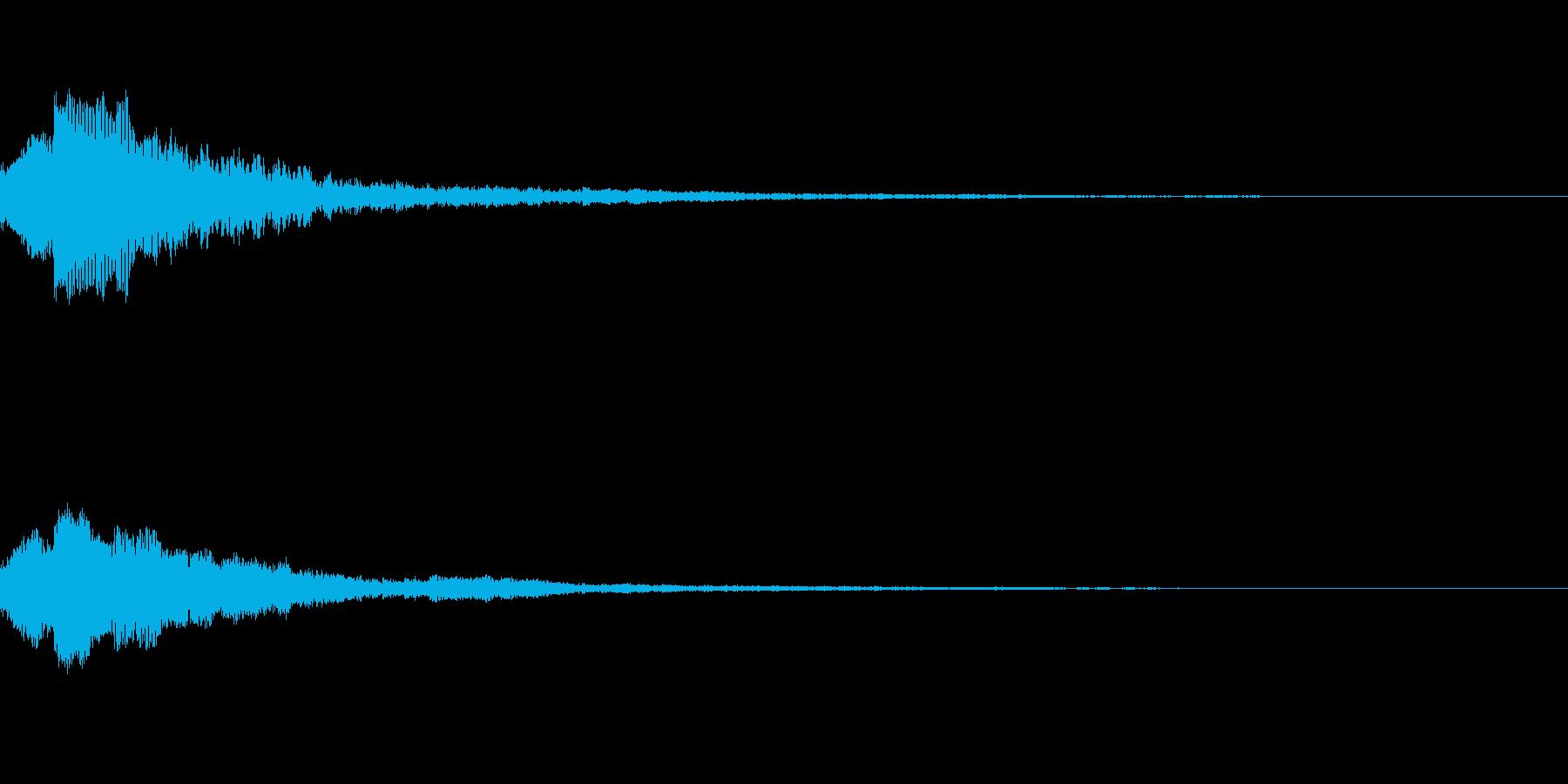 しゃらん♪ (連鎖09)の再生済みの波形