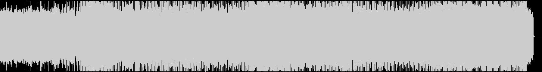 アツいリードと迫力のパワーメタル系BGMの未再生の波形
