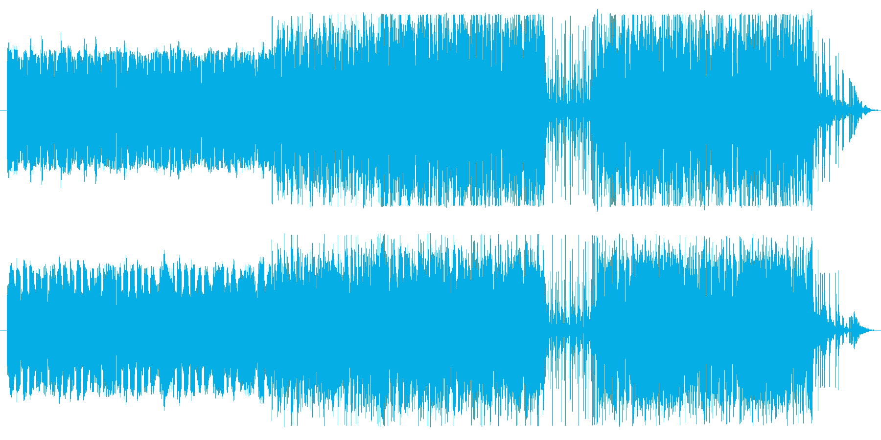 中世風古笛ワルツ:ホラー系や廃墟シーンにの再生済みの波形