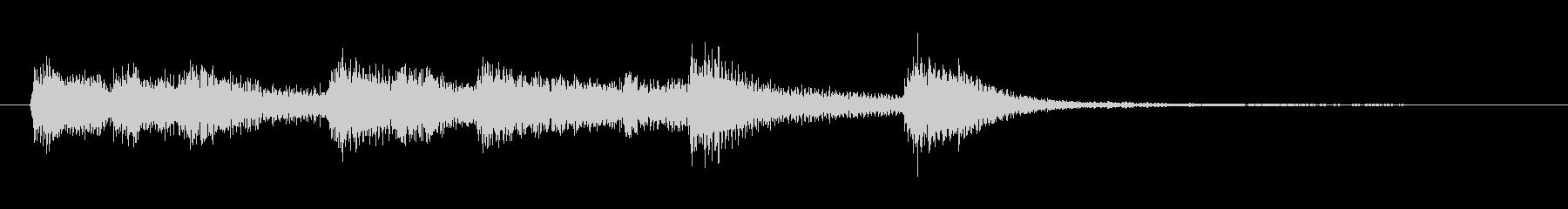 高音質♪和風出囃子ジングルヨーロッパ風の未再生の波形