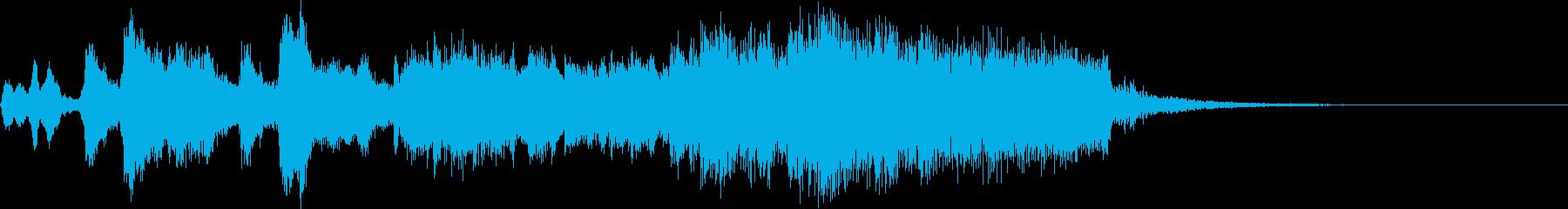CM RPG 迫力オーケストラ風ショートの再生済みの波形