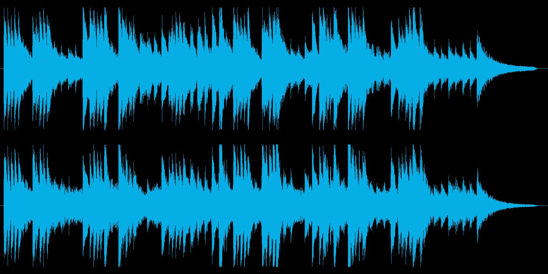 和風なCMにいかがでしょう。の再生済みの波形