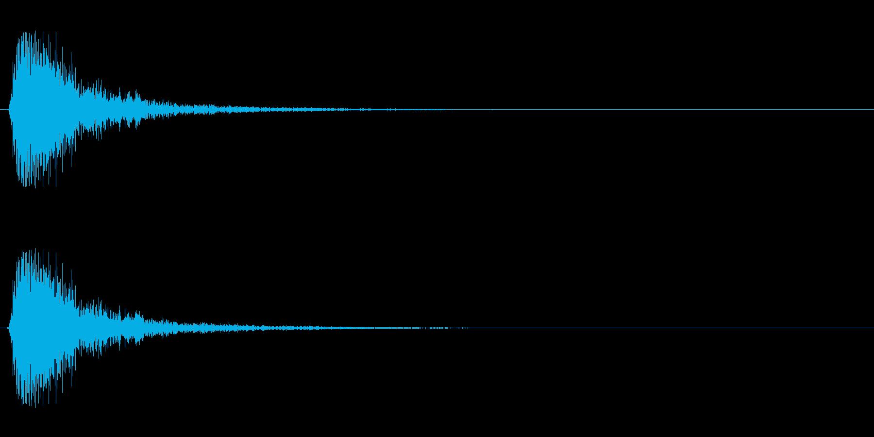 【出題03-1】の再生済みの波形
