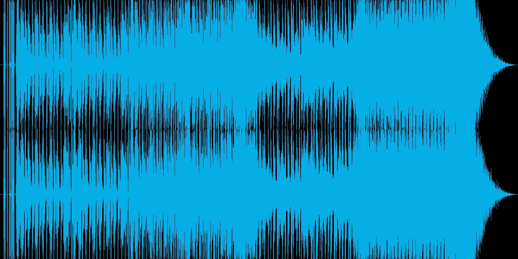 【EDM】未来的クールなEDMの再生済みの波形