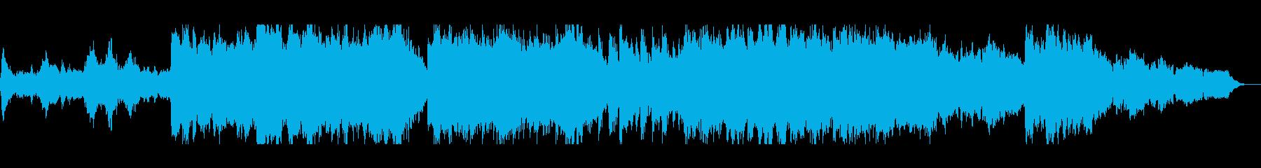 オーケストラと琴の調べ、壮大で幻想的の再生済みの波形