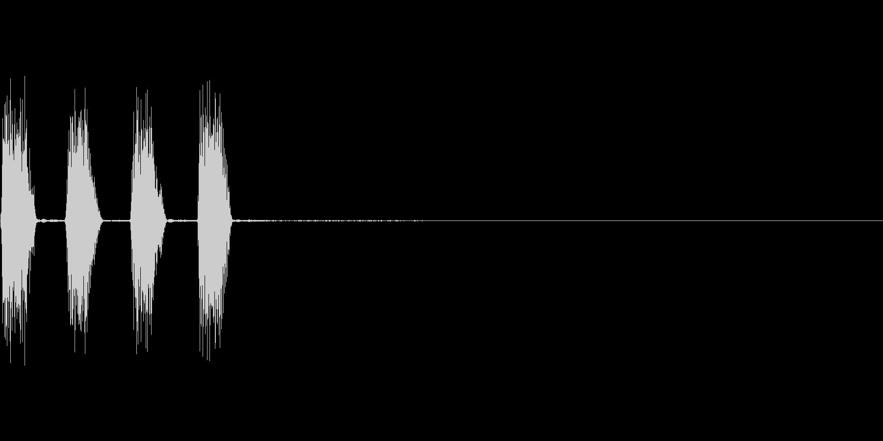 コックピットなどの細かい電子音_07の未再生の波形