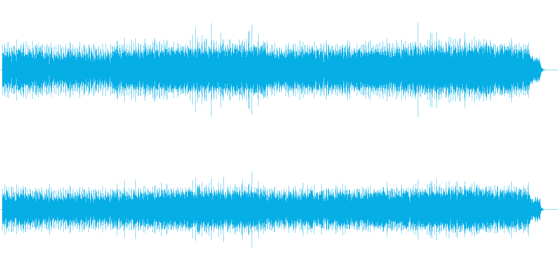 ゴージャスなボサノバの再生済みの波形