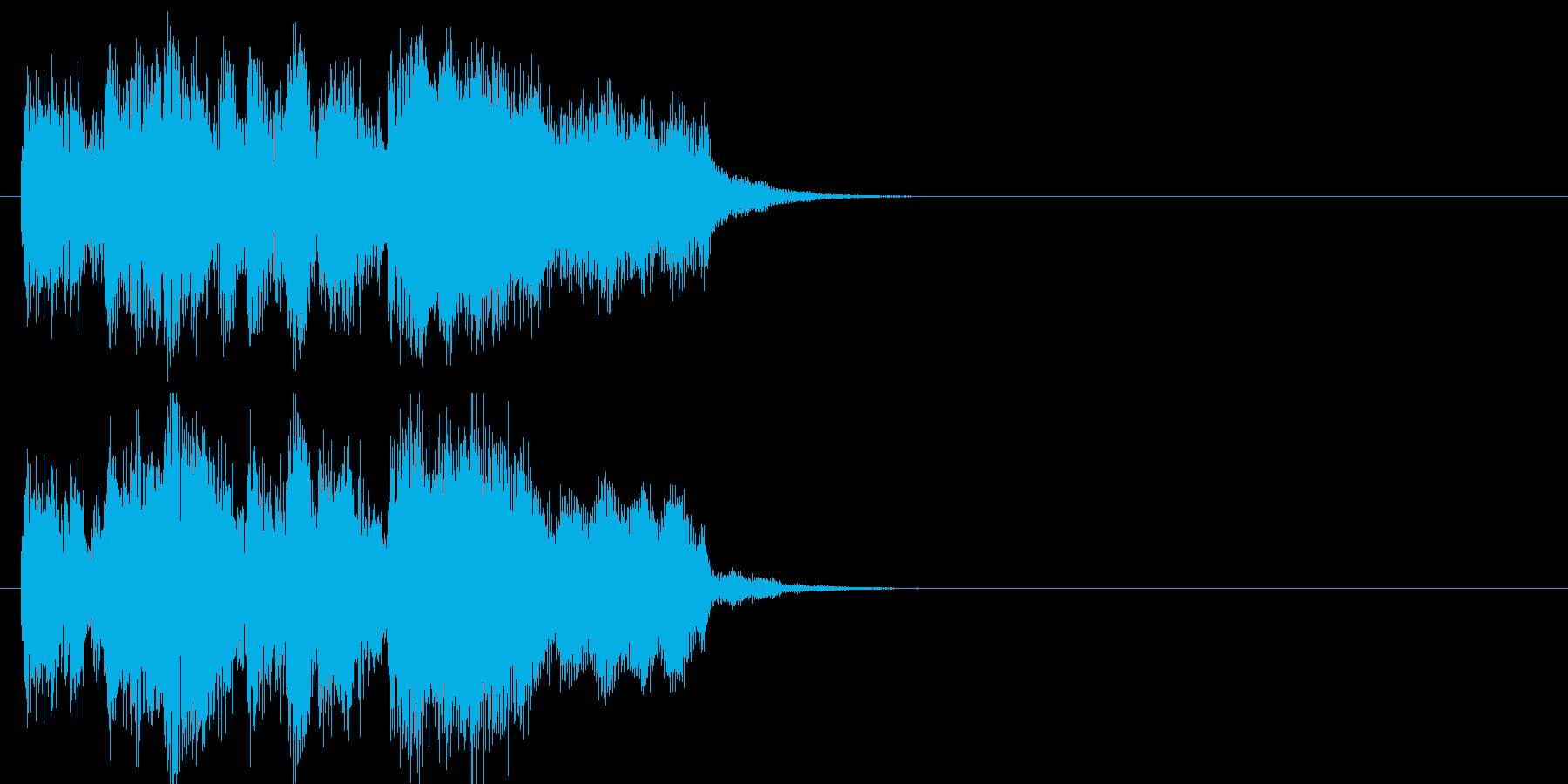 場面転換 テーマ 報道 登場 クイズの再生済みの波形
