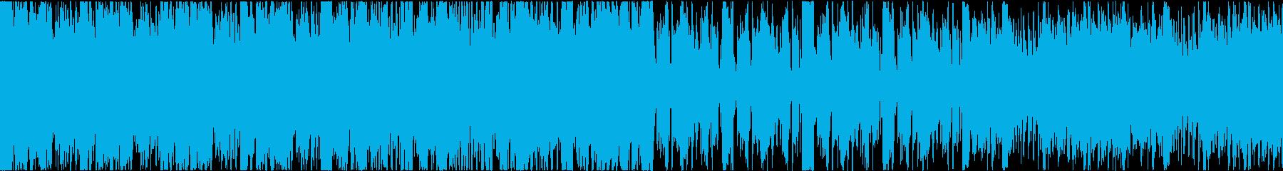 緊迫感 失踪 走る 和風 テクノ 太鼓の再生済みの波形