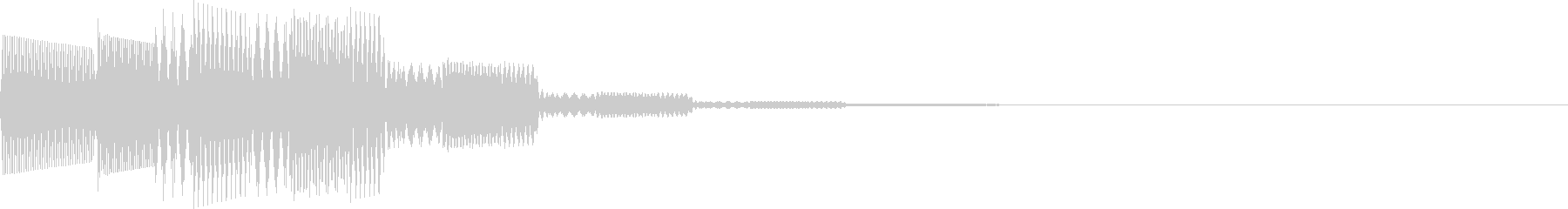 ピロロロン(決定、スワイプ、パスワード)の未再生の波形