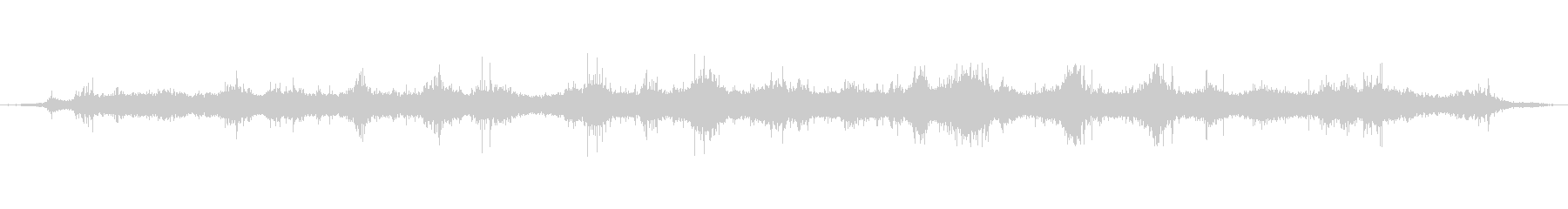 内海の波打ち際、穏やかな波音01の未再生の波形