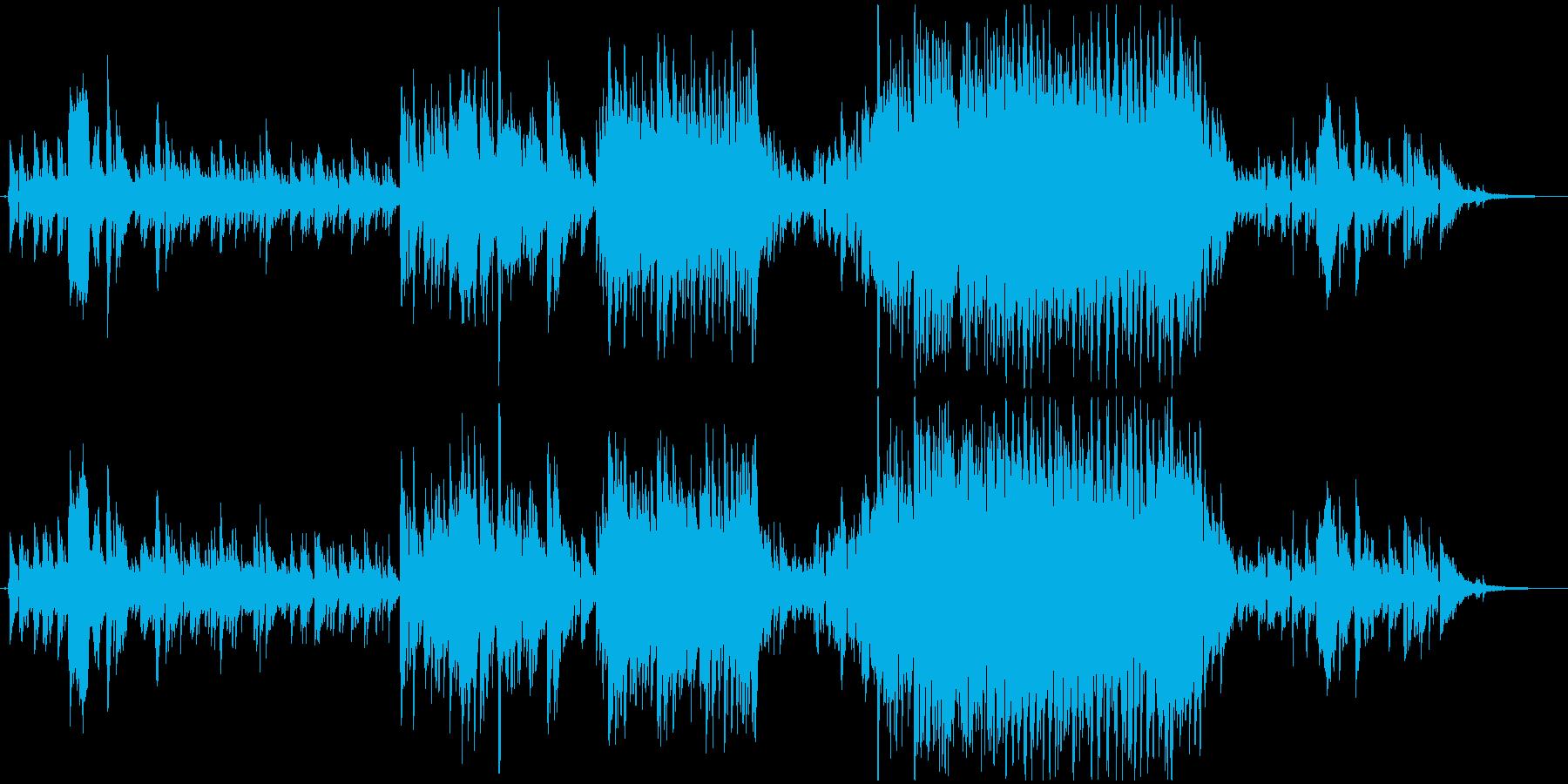 ピアノと歌声が印象的な詞を素敵に奏でますの再生済みの波形