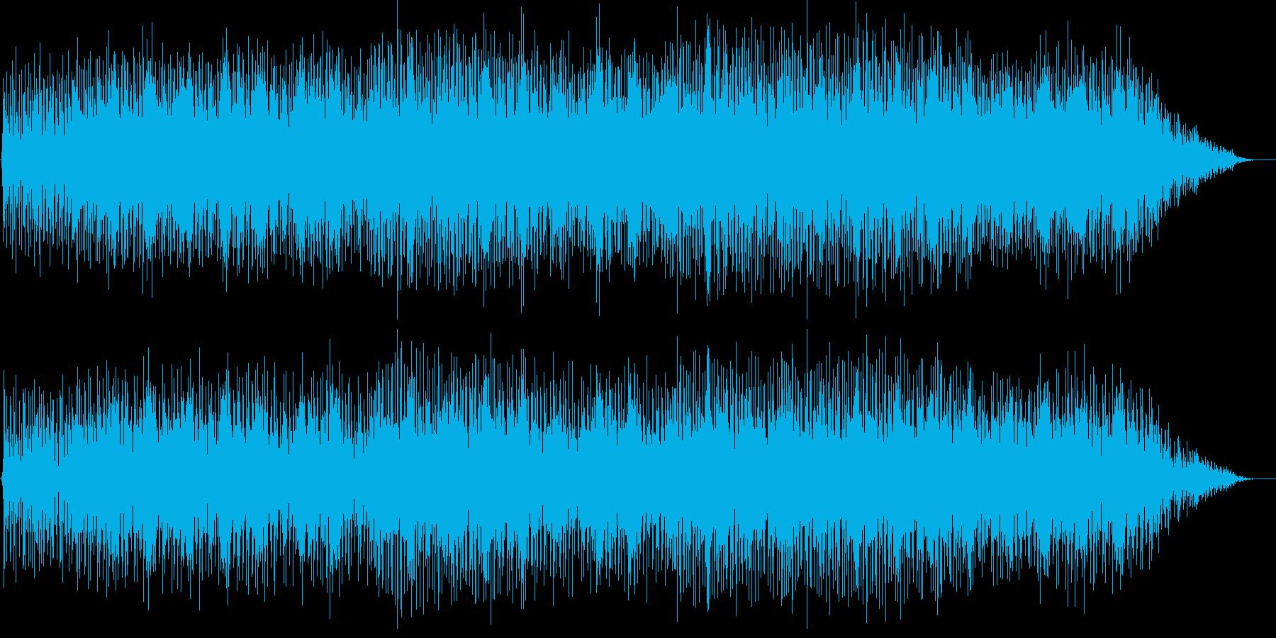楽しい曲です。の再生済みの波形
