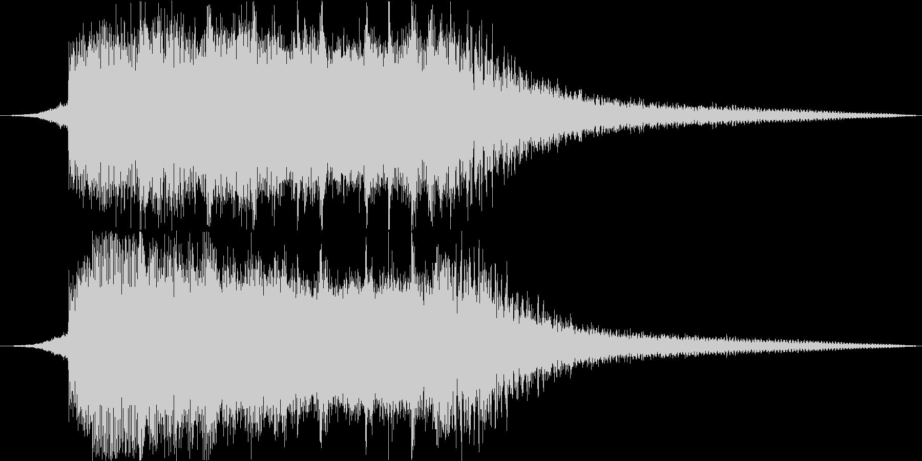 サウンドロゴ#2の未再生の波形