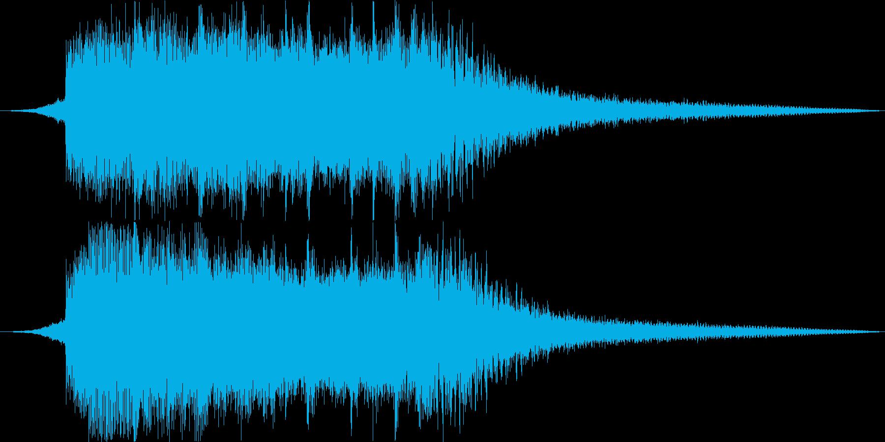 サウンドロゴ#2の再生済みの波形