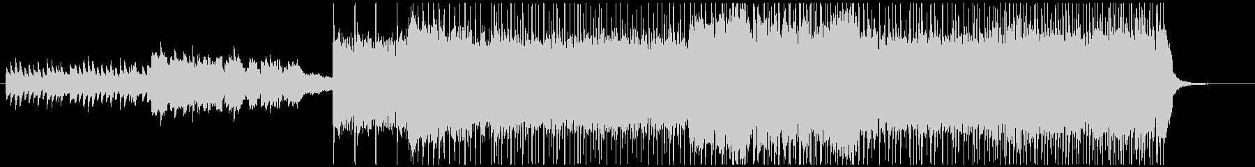 ヨナ抜き音階の和ロックの未再生の波形