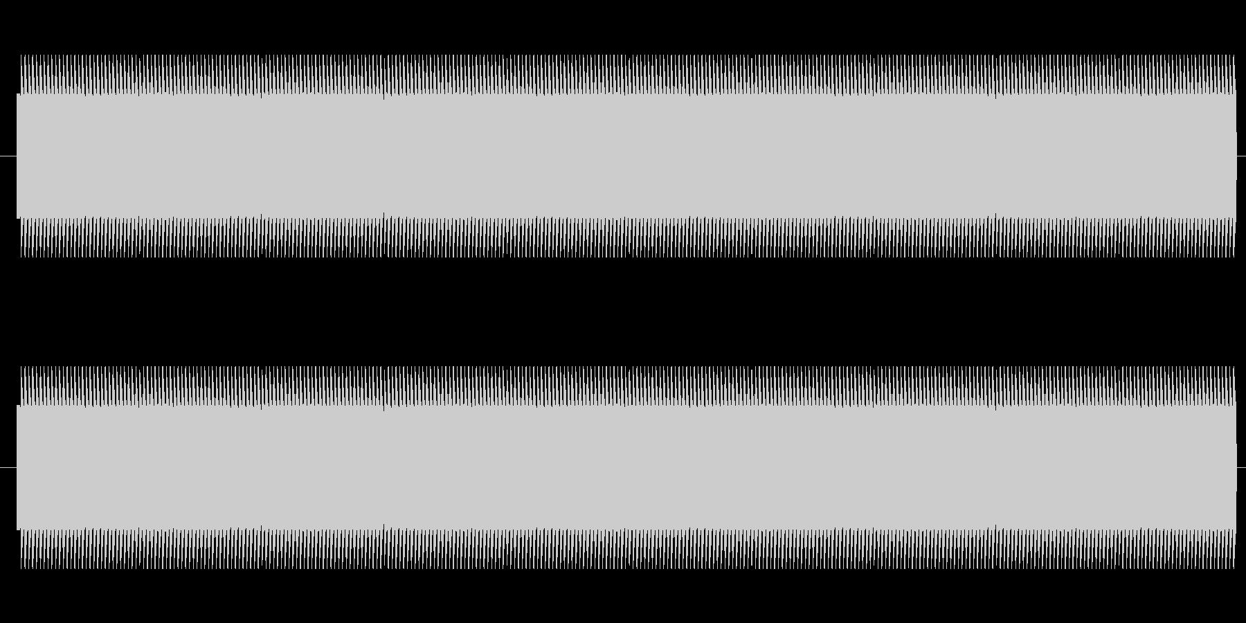 鉄道サウンド 駅発車ベル タイプBの未再生の波形