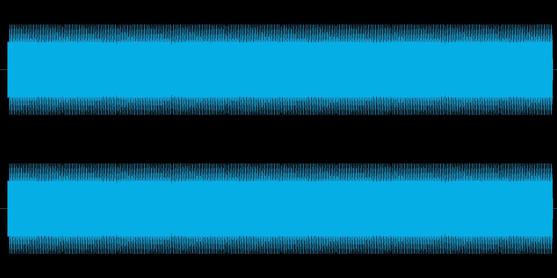 鉄道サウンド 駅発車ベル タイプBの再生済みの波形